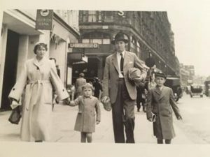 Gordon and Nicholas Cooper, insurance broker family